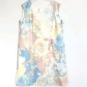 NWOT Tahari Sleeveless Floral Sheath Dress